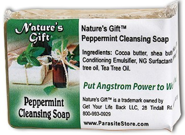 Nature's Gift® Peppermint Bar Soap